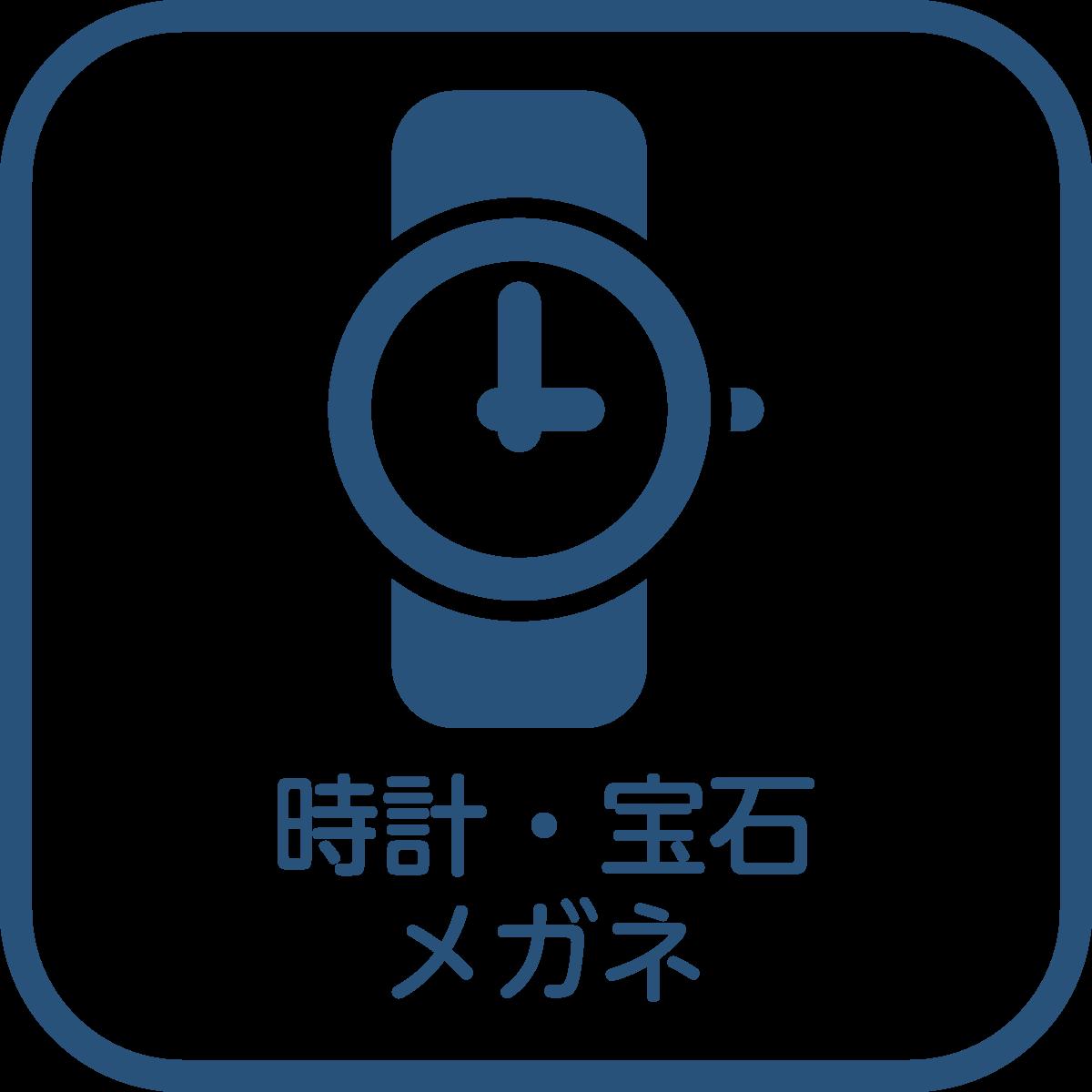 時計・宝石・メガネ